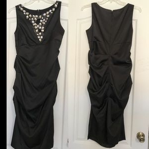 EUC Blu Sage Black Dress
